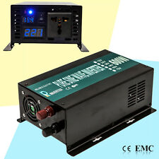 600W Pure Sine Wave Inverter DC to AC Car Power Inverter 12/24/48V to 120/220V