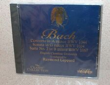 Bach Concerto in A Minor NEW & SEALED CD Conducted Raymond Leppard Polygram