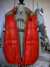POLO RALPH LAUREN RED DOWN SUPER VEST - HOOD men's  XXXL 3XL BIG  NEW $299