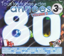 ANNEES 80 Vol.2 - 3 CD NEU Spagna Stephanie Gazebo Silver Pozzoli Den Harrow