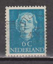 NVPH Netherlands Nederland 519 TOP CANCEL ROTTERDAM Juliana EN FACE 1949