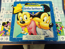Vintage Board Game - Walt Disney's Scabble Little Letters - 100% Complete