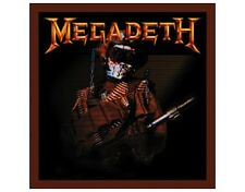 NEW Official Woven Sew/ Iron-on Patch Heavy Metal Rock MEGADETH So What Soldier