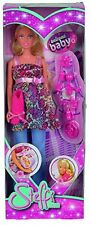 Steffi Love Pregnant Doll Barbie Girl, Removable Tummy, Baby + 13 Accessories