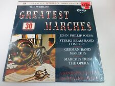 """THE WORLDS GREATEST MARCHES 3-LP 12"""" SEALED VINYL LP RECORD"""