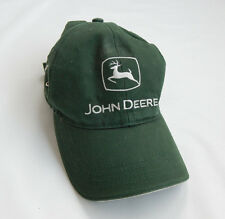 John Deere Logo Baseball/Farmer Cap 100% Cotton Green