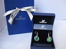 BNIB Genuine Swarovski Sun Blue Aurora Boreale earrings 928361Mother's dayRRP£79