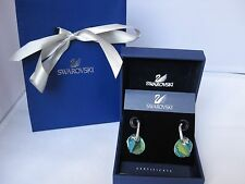 BNIB Genuine Swarovski Sun Blue Aurora Boreale earrings 928361 Valentine'sRRP£79