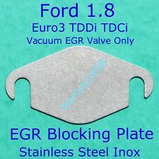 EGR Valve Blanking Plate Euro3 Ford Connect, Focus, Mondeo 1.8L TDDI TDCi Block