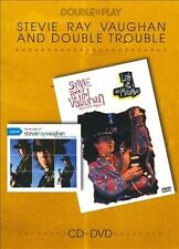 Double Play STEVIE RAY VAUGHAN Playlist CD + Live DVD w/interview Fanpack SEALED