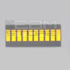 Ledbar DC10YWA barra a led 10 led gialli ART. AB04