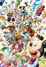 Tenyo Japan Jigsaw Puzzle D-1000-400 Disney All Characters (1000 Pieces)
