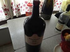 W. J. Grahams Tawny port empty display wine bottle