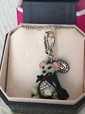 BRAND NEW JUICY COUTURE DRACULA MOUSE BRACELET CHARM IN TAGGED BOX