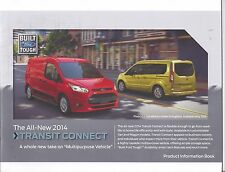 Mint/Original 2014 Ford Transit Connect Product Information Book 14  News