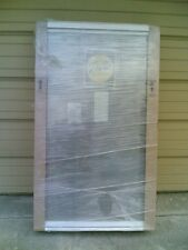 NEW: Nice Pella Wood Home FIXED PICTURE WINDOW w/ White Aluminum Cladding 35x59