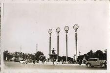 PHOTO ANCIENNE - VINTAGE SNAPSHOT - EXPOSITION UNIVERSELLE PARIS CONCORDE 1937