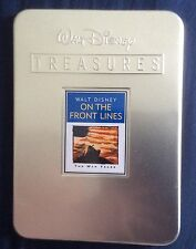 DISNEY TREASURES DVD IN COLLECTOR'S TIN ON THE FRONT LINES OOP RARE