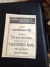 G5-1 ephemera 1966 Advert Penzance Winter Gardens Trendsetters Ltd