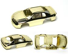 1996 TYCO CHEVY Monte Carlo Test Shot Slot Car BODY Only Factory Gold Chrome A++