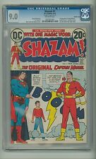 Shazam #1 (CGC 9.0) DOUBLE COVER; 1973 D.C. Comics, Captain Marvel (id# 14904)