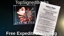 SIGNED Thank You by Meghan Trainor CD (2016) new with event photos, autographed
