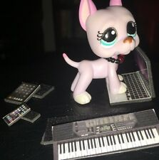 LPS-Littlest Pet Shop-Lot of Phone, Keyboard, Laptop, Collar & Tablet *BLACK*