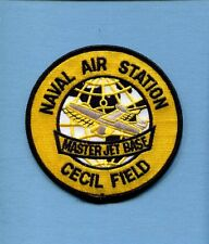 NAS NAVAL AIR STATION CECIL FIELD FL US Navy Base Squadron Jacket Patch