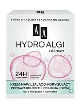AA OCEANIC HYDRO ALGAE PINK MOISTURIZE CORRECTIVE CREAM normal combination skin