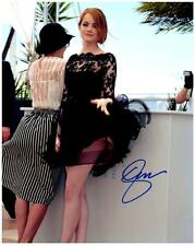 Emma Stone signed 8x10 Photo Picture autographed VERY NICE + COA