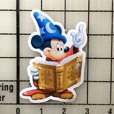 "Mickey Mouse Sorcerer Fantasia 4"" Tall VInyl Decal Sticker - BOGO"