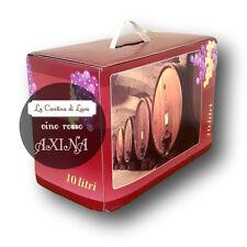 Vino Rosso Axina Bag in Box lt.10 - Vini Sfusi Sardegna -
