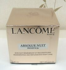 LANCOME ABSOLUE PREMIUM BX NUIT CREAM 75ML BNIB- REDUCED - SLIGHTLY SQUASHED BOX