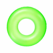 Frosted Neon Tube Inflatable Pool Ring Inflatable Seat BRIGHT COLOR Swim 36025