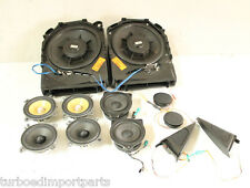 BMW E92 335I EARTHQUAKE SWS FOCAL K2 BSW AUDIO STEREO SPEAKERS SYSTEM TWEETERS