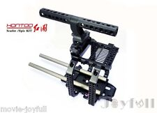 For RED SCARLET EPIC Camera Rig Kit  Cage Baseplate Top handle handgrip NEW