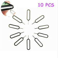 10 x Sim Card Tray Eject Pin Key Tool for iPhone 3G 3GS 4 4S 5 & iPad iPad Mini