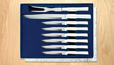 S7S RADA MEAT LOVERS SET OF 6 STEAK KNIVES & 1-SLICER & 1 CARVING FORK USA 1534
