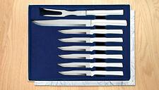 S7S RADA MEAT LOVERS SET OF 6 STEAK KNIVES & 1-SLICER & 1 CARVING FORK USA 1534