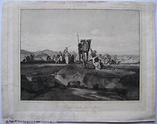D'APRÈS DECAMPS ALEXANDRE GABRIEL GRAVURE PAR VICTOR DESCLAUX ETCHING JOSEPH