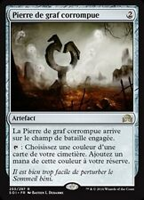 MTG Magic SOI - (x2) Corrupted Grafstone/Pierre de graf corrompue, French/VF