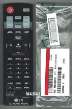 NEW LG Remote Control AKB73655721 fits CD HiFi Shelf System CM8430