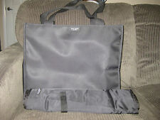 KATE SPADE CLASSIC BLACK NYLON DIAPER BABY BAG WITH CHANGING PAD TOTE SHOPPER