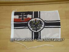 Fahnen Flagge Kaiserliche Marine Bootsfahne Tischwimpel - 30 x 45 cm