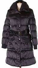 Juniors BABY PHAT Long Quilted Heavy Winter SNOW COAT Sz L Purple SHIPS FREE!!