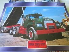 Super trucks sombreritos tractores estados unidos mack serie r700, 1976