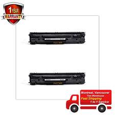 2PK Toner for HP 83A CF283A LaserJet Pro MFP M125nw M125rnw M127fn M127fw