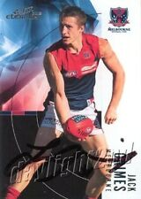 Signed 2012 MELBOURNE DEMONS AFL Card JACK GRIMES