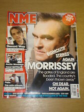 NME 2007 DEC 1 MORRISSEY GERARD WAY ARCTIC MONKEYS