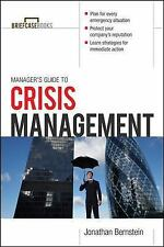 NEW - Manager's Guide to Crisis Management (Briefcase Books Series)